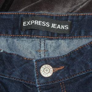 Express Dark Wash Jeans 12R